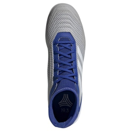 Buty halowe adidas Predator 19.3 In M D97963 szare wielokolorowe 2