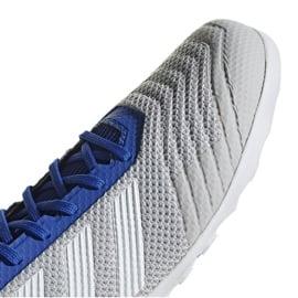 Buty halowe adidas Predator 19.3 In M D97963 szare wielokolorowe 3
