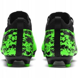Buty piłkarskie Puma One 19.3 Fg Ag M 105486 04 zielone wielokolorowe 1