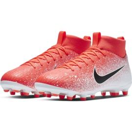 Buty piłkarskie Nike Mercurial Superfly 6 Academy Mg Jr AH7337-801 czerwone wielokolorowe 3