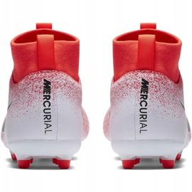 Buty piłkarskie Nike Mercurial Superfly 6 Academy Mg Jr AH7337-801 czerwone wielokolorowe 4