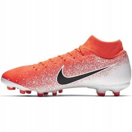 Buty piłkarskie Nike Mercurial Superfly 6 Academy FG/MG M AH7362-801 czerwone wielokolorowe 2