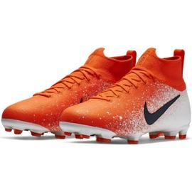 Buty piłkarskie Nike Mercurial Superfly 6 Elite Fg Jr AH7340-801 czerwone wielokolorowe 3