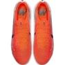 Buty piłkarskie Nike Mercurial Vapor 12 Elite Fg M AH7380-801 biały, pomarańczowy czerwone 1