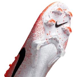 Buty piłkarskie Nike Mercurial Vapor 12 Elite Fg M AH7380-801 czerwone biały, pomarańczowy 5