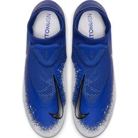 Buty piłkarskie Nike Phantom Vsn Academy Df FG/MG M AO3258-410 wielokolorowe niebieskie 2