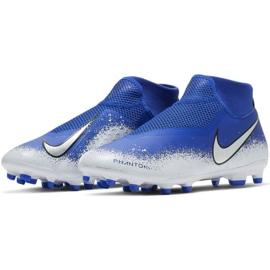 Buty piłkarskie Nike Phantom Vsn Academy Df FG/MG M AO3258-410 wielokolorowe niebieskie 3