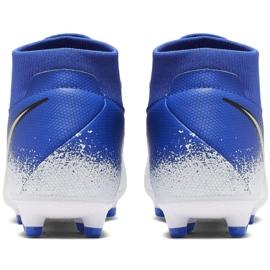 Buty piłkarskie Nike Phantom Vsn Academy Df FG/MG M AO3258-410 wielokolorowe niebieskie 4