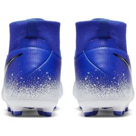 Buty piłkarskie Nike Phantom Vsn Academy Df FG/MG Jr AO3287-410 wielokolorowe niebieskie 4