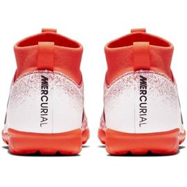 Buty piłkarskie Nike Mercurial Superfly X 6 Academy Tf Jr AH7344-801 pomarańczowe wielokolorowe 4