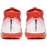 Buty piłkarskie Nike Mercurial Superfly X 6 Academy Tf Jr AH7344-801 biały, pomarańczowy pomarańczowe 4