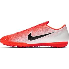 Buty piłkarskie Nike Mercurial Vapor X 12 Academy Tf M AH7384-801 wielokolorowe białe 2
