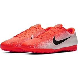 Buty piłkarskie Nike Mercurial Vapor X 12 Academy Tf M AH7384-801 wielokolorowe białe 3