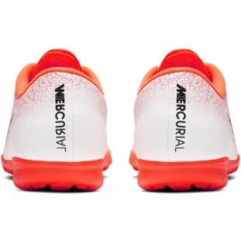 Buty piłkarskie Nike Mercurial Vapor X 12 Academy Tf M AH7384-801 wielokolorowe białe 4