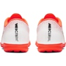 Buty piłkarskie Nike Mercurial Vapor X 12 Academy Tf M AH7384-801 białe biały, pomarańczowy 4