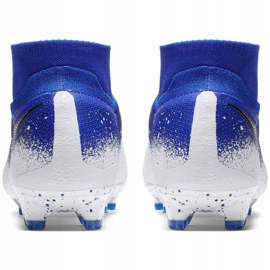 Buty piłkarskie Nike Phantom Vsn Elite Df Fg M AO3262-410 niebieskie wielokolorowe 4