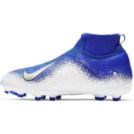 Buty piłkarskie Nike Phantom Vsn Elite Df Mg Jr AO3289-410 wielokolorowe niebieskie 1