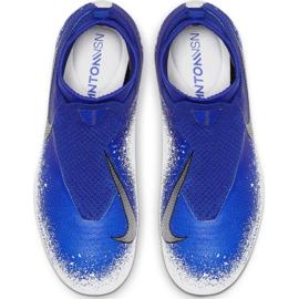 Buty piłkarskie Nike Phantom Vsn Elite Df Mg Jr AO3289-410 wielokolorowe niebieskie 2