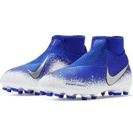 Buty piłkarskie Nike Phantom Vsn Elite Df Mg Jr AO3289-410 wielokolorowe niebieskie 3