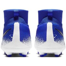 Buty piłkarskie Nike Phantom Vsn Elite Df Mg Jr AO3289-410 wielokolorowe niebieskie 4