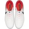 Buty piłkarskie Nike Tiempo Legend 7 Elite Fg M AH7238-118 biały, pomarańczowy białe 2