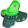 Klapki Aqua-speed Silvi Jr kol 48 zielono granatowe 2