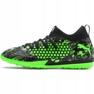 Buty halowe Puma Future 19.3 Netfit Tt M 105542 03 czarny, zielony zielone 1