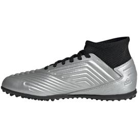 Buty piłkarskie adidas Predator 19.3 Tf Jr G25802 wielokolorowe srebrny 1
