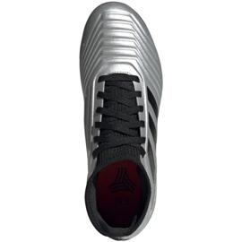 Buty piłkarskie adidas Predator 19.3 Tf Jr G25802 wielokolorowe srebrny 2