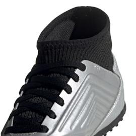 Buty piłkarskie adidas Predator 19.3 Tf Jr G25802 wielokolorowe srebrny 3