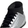 Buty piłkarskie adidas Predator 19.3 Tf Jr G25802 szary/srebrny srebrny 3