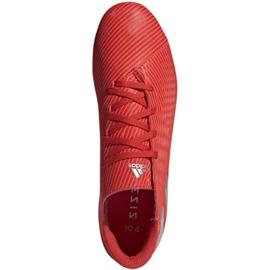 Buty piłkarskie adidas Nemeziz 19.4 FxG M F34393 czerwone czerwone 1