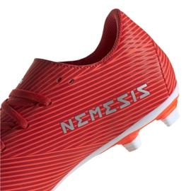 Buty piłkarskie adidas Nemeziz 19.4 FxG M F34393 czerwone czerwone 3