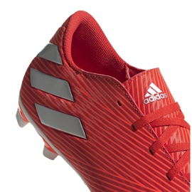 Buty piłkarskie adidas Nemeziz 19.4 FxG M F34393 czerwone czerwone 4