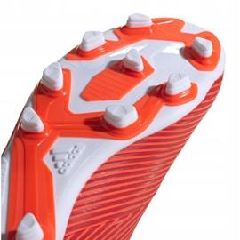 Buty piłkarskie adidas Nemeziz 19.4 FxG M F34393 czerwone czerwone 5