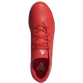 Buty halowe adidas Nemeziz 19.4 In M F34528 czerwone czerwone 1