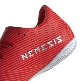 Buty halowe adidas Nemeziz 19.4 In M F34528 czerwone czerwone 3