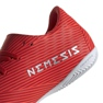 Buty halowe adidas Nemeziz 19.4 In M F34528 czerwone czerwony 3