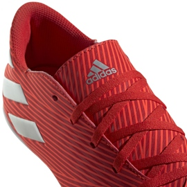 Buty halowe adidas Nemeziz 19.4 In M F34528 czerwone czerwone 4