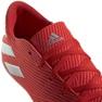 Buty halowe adidas Nemeziz 19.4 In M F34528 czerwone czerwony 4