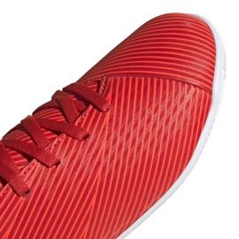 Buty piłkarskie adidas Nemeziz 19.4 In Jr F99938 czerwony czerwone 3