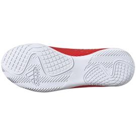 Buty piłkarskie adidas Nemeziz 19.4 In Jr F99938 czerwony czerwone 6