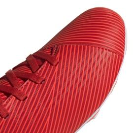 Buty piłkarskie adidas Nemeziz 19.4 FxG Jr F99948 czerwone czerwone 3