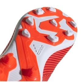 Buty piłkarskie adidas Nemeziz 19.4 FxG Jr F99948 czerwone czerwone 5