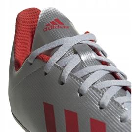 Buty piłkarskie adidas X 19.4 FxG Jr F35362 srebrny wielokolorowe 1
