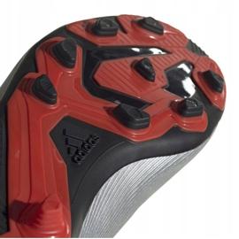Buty piłkarskie adidas X 19.4 FxG Jr F35362 srebrny wielokolorowe 2