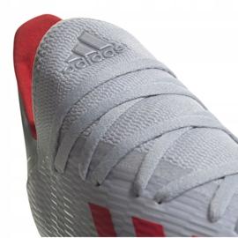Buty piłkarskie adidas X 19.3 Fg M F35382 srebrny wielokolorowe 1