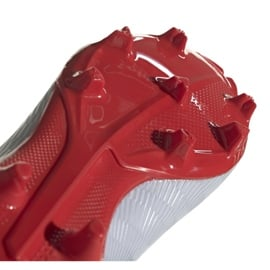 Buty piłkarskie adidas X 19.3 Fg M F35382 srebrny wielokolorowe 2