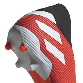 Buty piłkarskie adidas Nemeziz 19.3 Ll Fg M F99997 czerwone czerwone 3