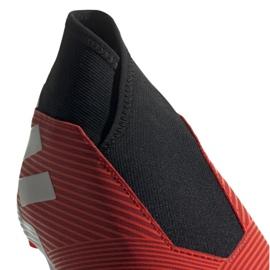 Buty piłkarskie adidas Nemeziz 19.3 Ll Fg M F99997 czerwone czerwone 4